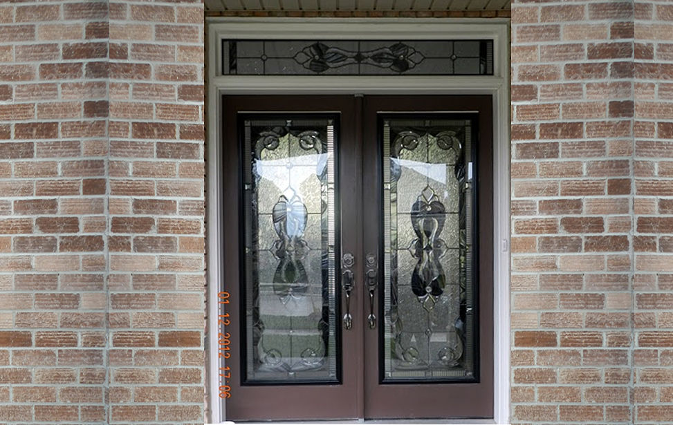 Vinyl leaf windows and doors for Window samples for houses